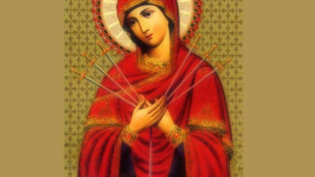 "Madonna Theotokos ""Semistrelnaya"""