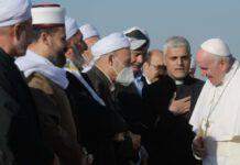 Arrivo Papa Francesco a Erbil