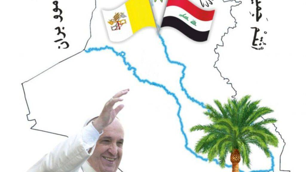 Logo visita Papa in Iraq