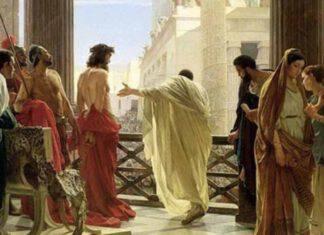 Ponzio Pilato davanti a Gesù