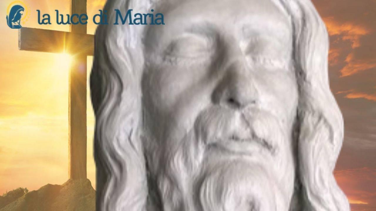 Il volto di Gesù dalla Sindone