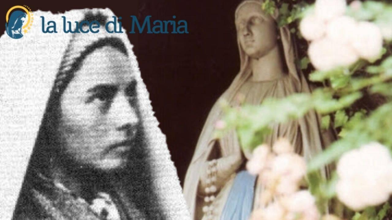 Bernadette e la Madonna di Lourdes
