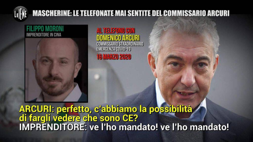 Domenico Arcuri iene moroni