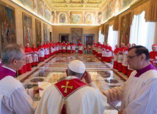 papa francesco cardinali concistoro santa sede