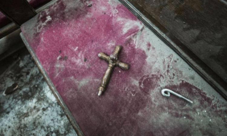 tomba di un martire cristiano
