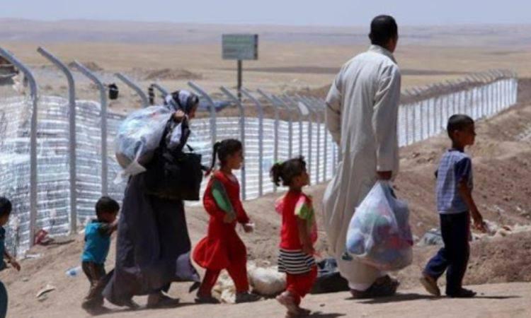 cristiani in fuga dall'iraq