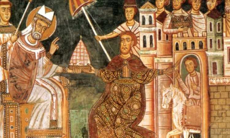 costantino e il papa