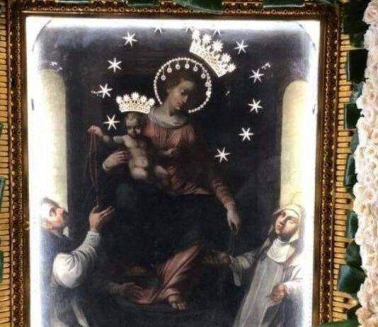 vergine rosario pompei