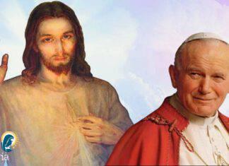 Gesù misericordioso Giovanni Paolo II