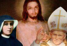 Gesù Misericordioso Santa Faustina Giovanni Paolo II