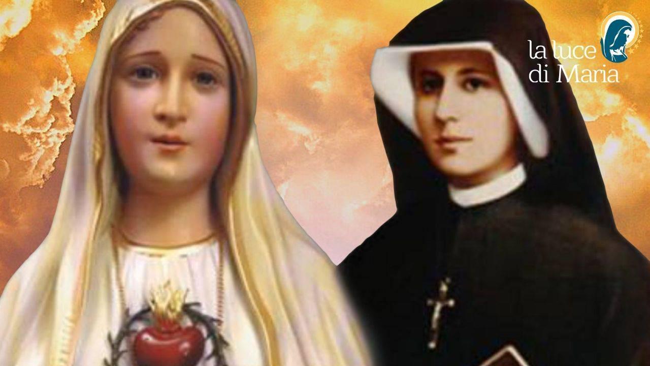 Maria e Suor Faustina