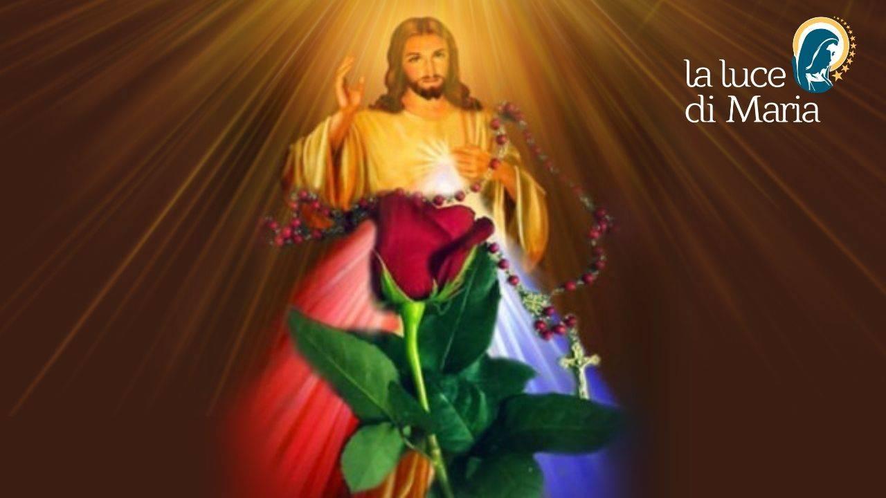 Gesù Coroncina Misericordia
