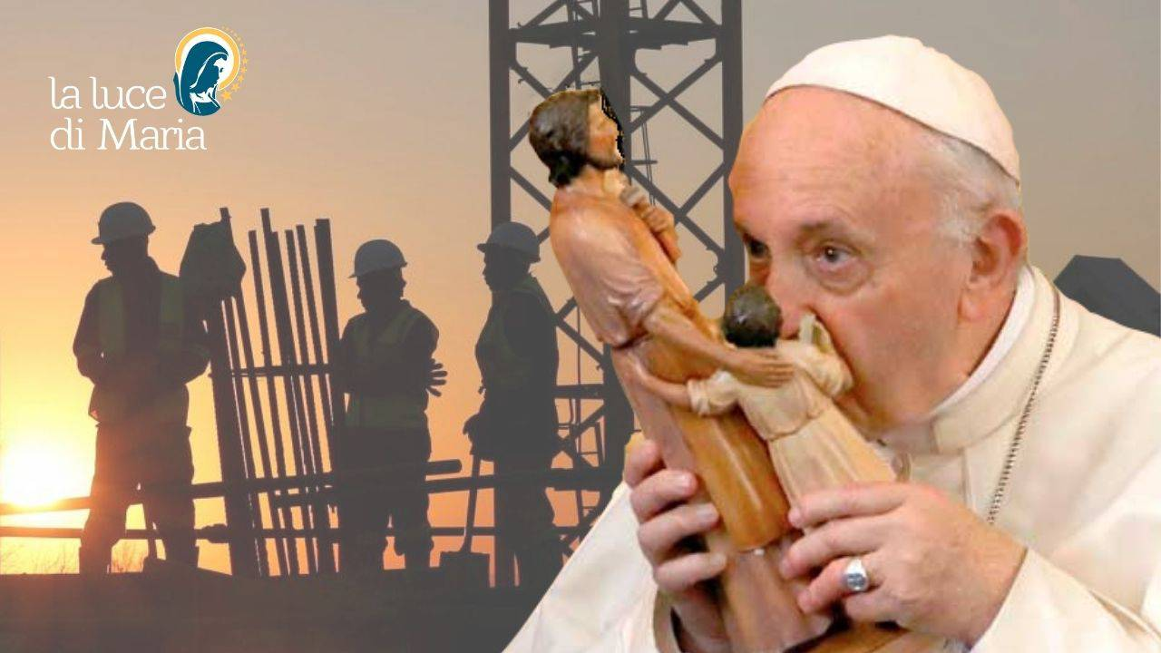 San Giuseppe lavoratore Papa