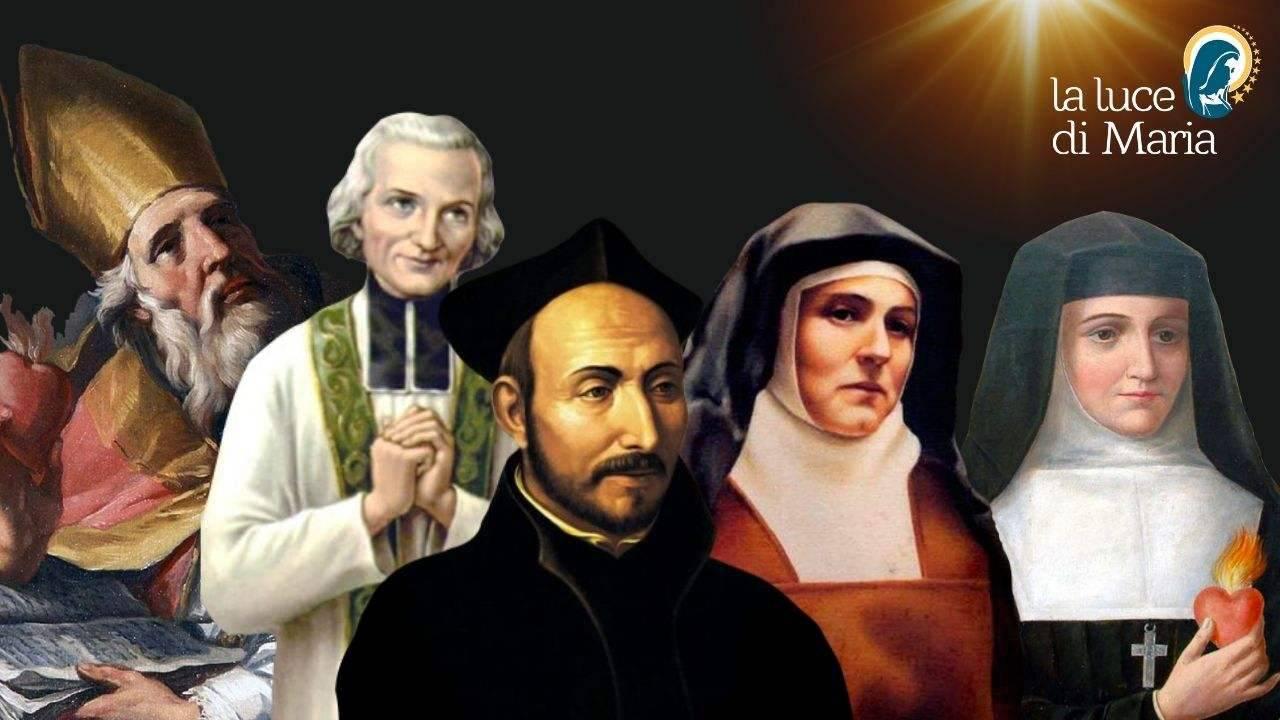 santi che hanno offerto la loro sofferenza a Dio