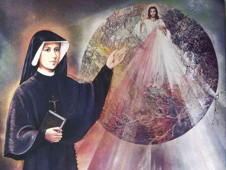 Suor Faustina e Gesù