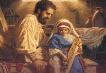 San Giuseppe Lavoratore e Gesù