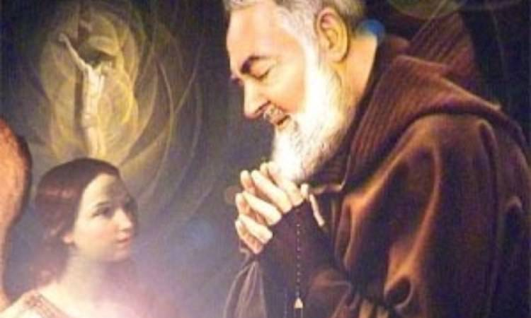 padre pio prega l'angelo custode