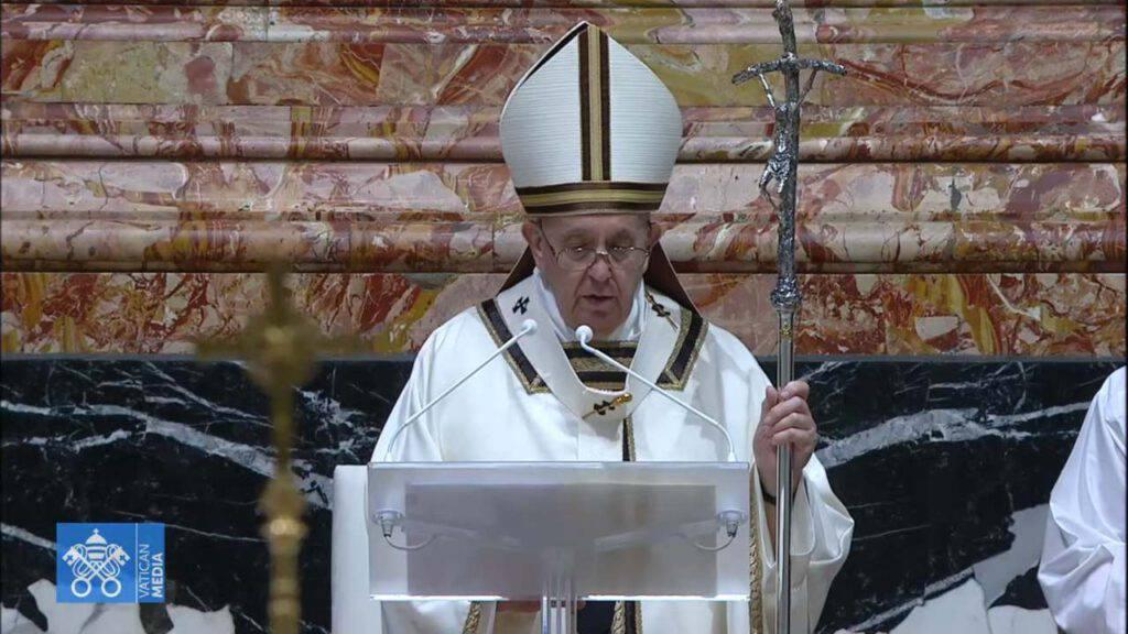 veglia sabato santo papa francesco
