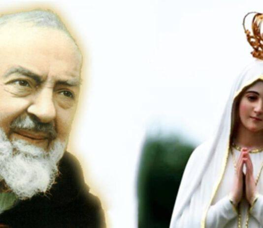 Padre Pio Madonna Fatima