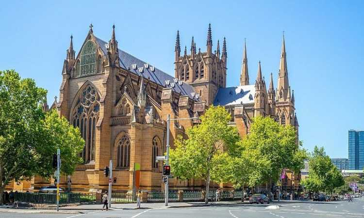 La St.Mary's Cathedral di Sidney