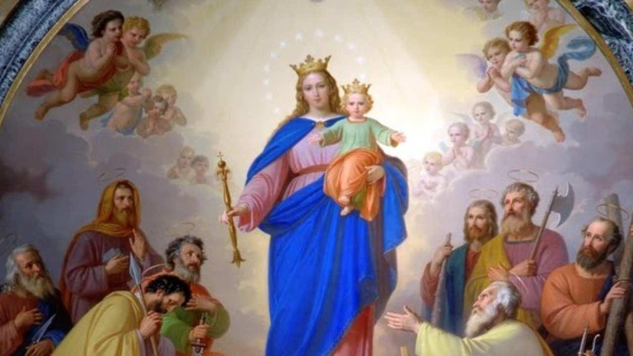 Quadro Maria Ausiliatrice Santuario