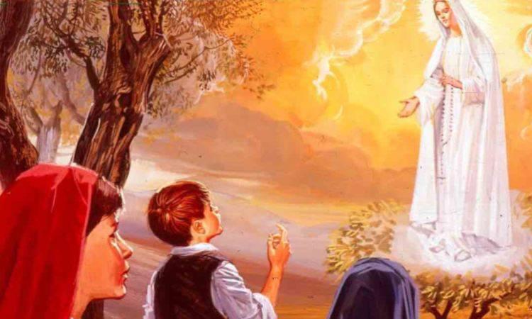 l'apparizione ai tre pastorelli di fatima