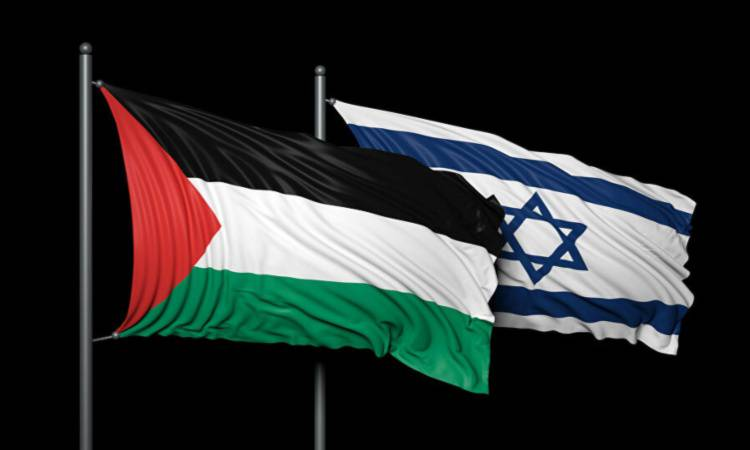 bandiere israele e palestina