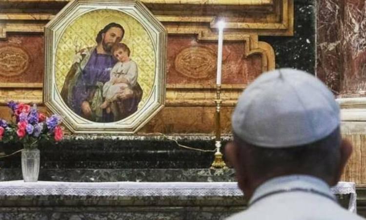 papa francesco e san giuseppe
