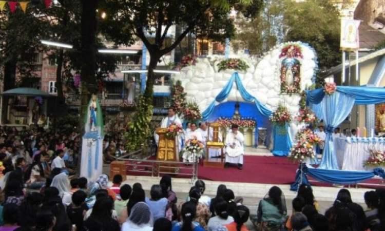 Nostra Signora di Lourdes in Myanmar