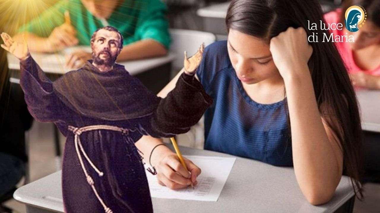 Preghiera al Santo degli studenti