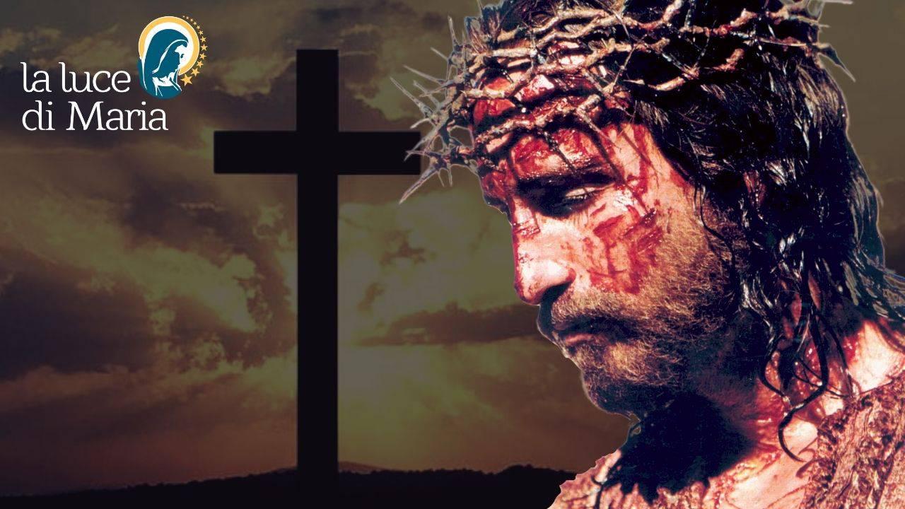 Gesù Sangue Croce Corona di Spine