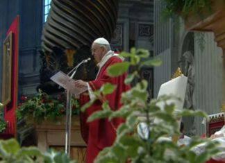 Omelia Papa Santi Pietro e Paolo 29062021
