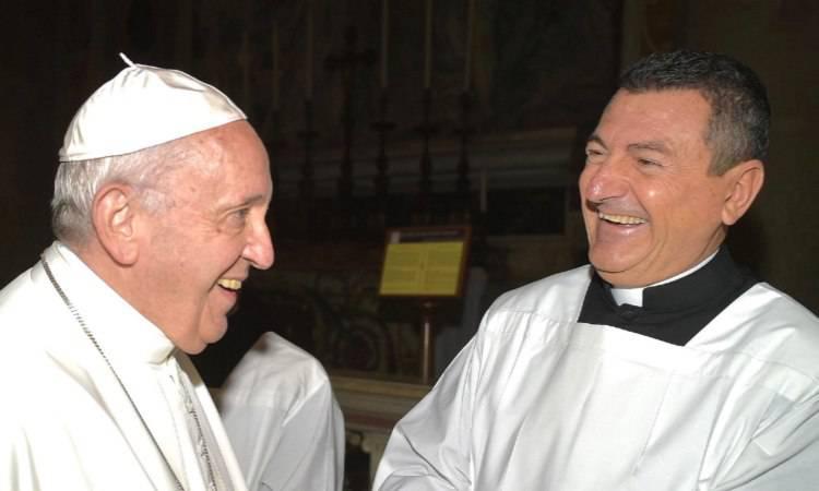 fabrizio gatta e il papa