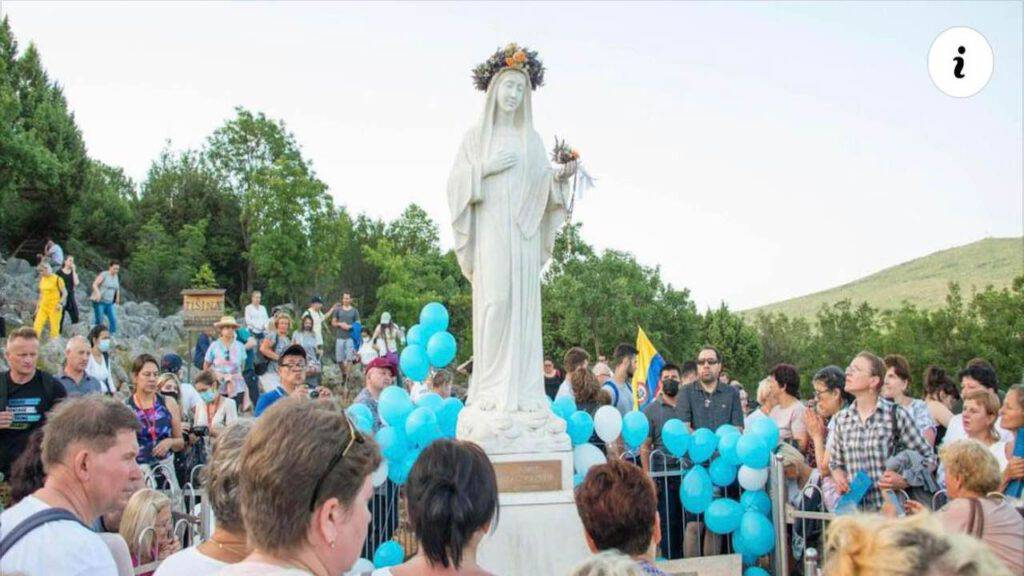 Madonna sulla Collina Apparizioni a Medjugorje