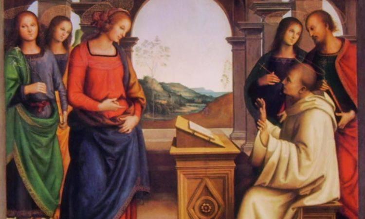 San Bernardo invoca Maria