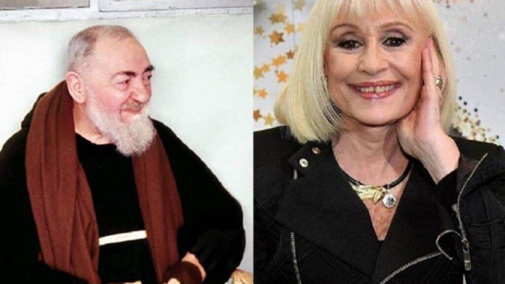 Padre Pio e Raffaella Carra