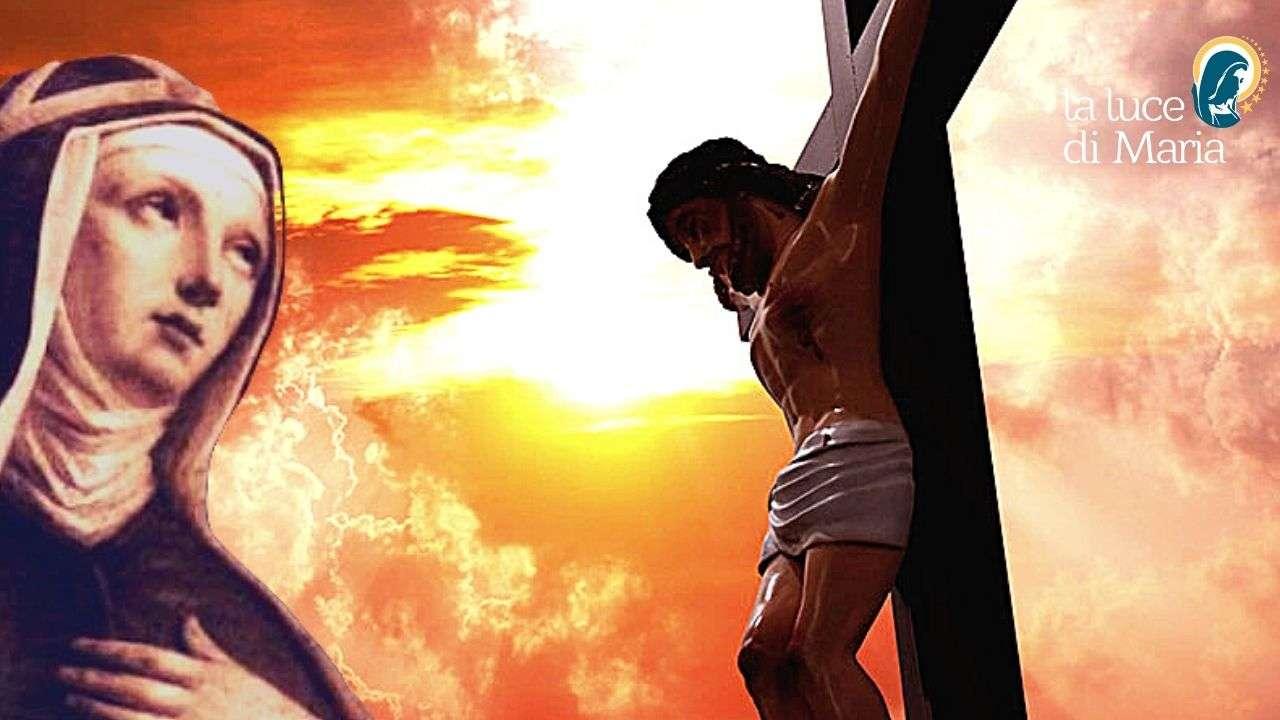 Gesù e Santa Brigida