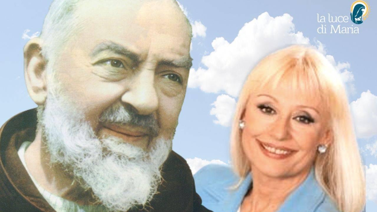 raffaella carrà Padre Pio