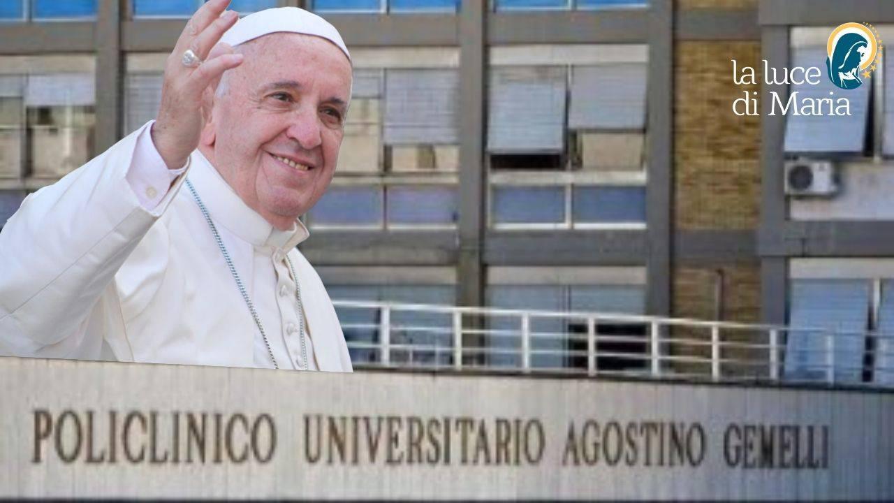 papa francesco Gemelli