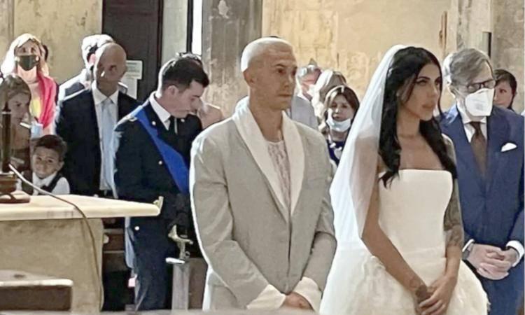 Bernardeschi e la sua compagna Veronica