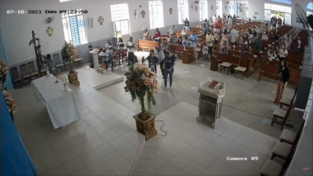 brasile violenza in chiesa