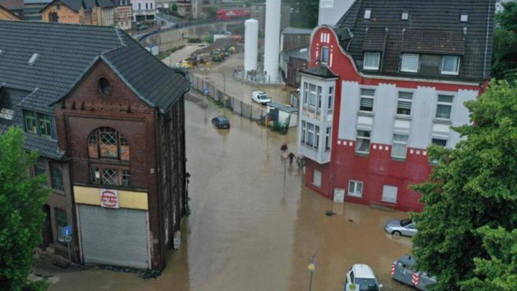 germania inondazione