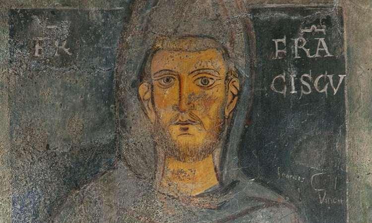 L'antico affresco di San Francesco a Subiaco