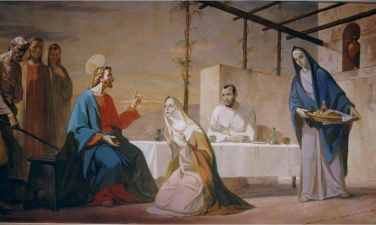 santi marta maria e lazzaro
