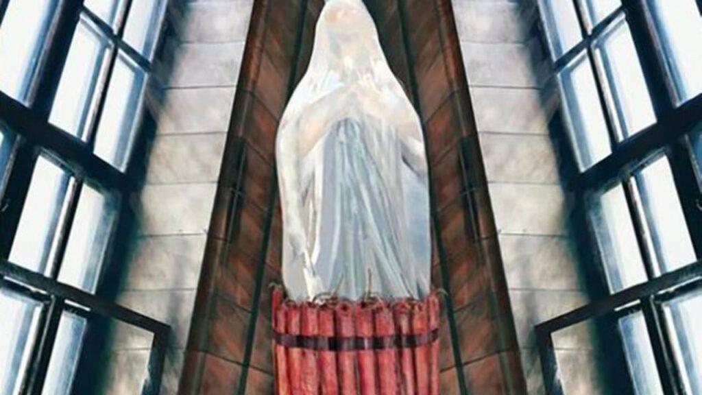 statua blasfemia