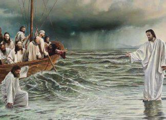 Vangelo - Gesù-cammina-sulle acque-min