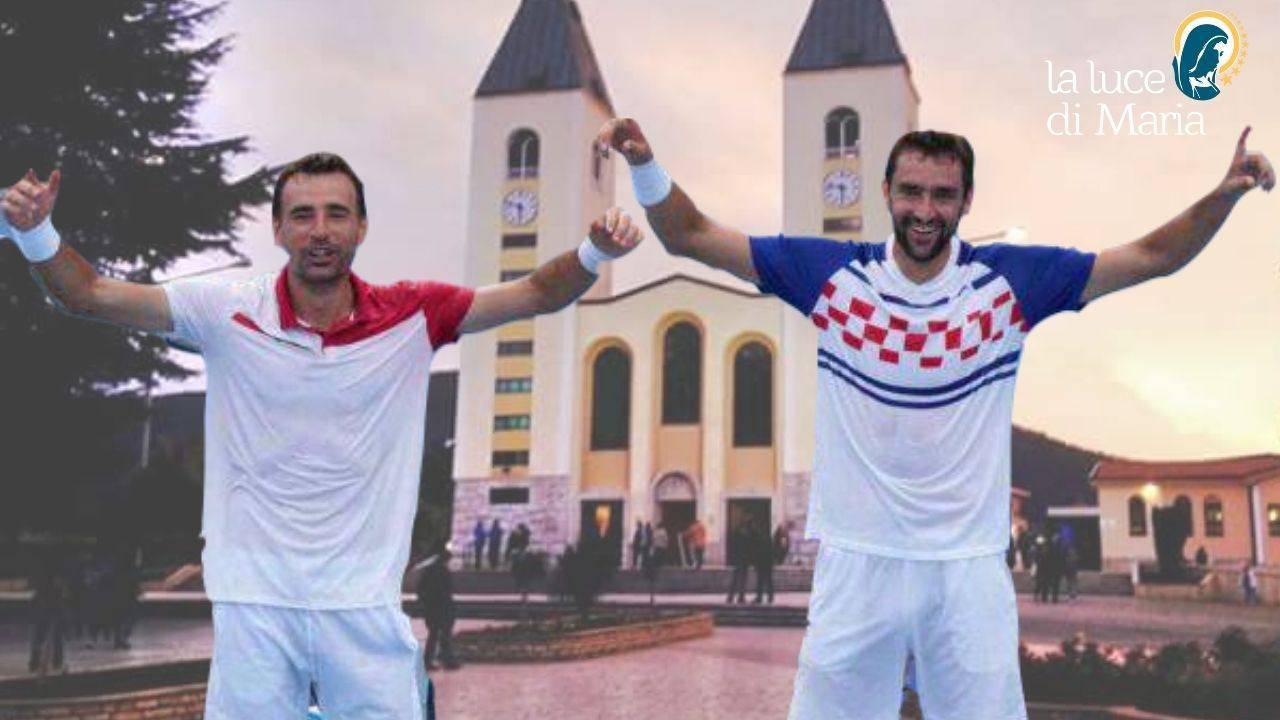 Marin Čilić e Ivan Dodig Medjugorje