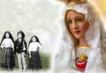 Madonna di Fatima e i Pastorelli
