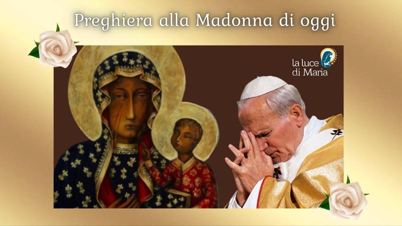 Madonna di Czestochowa e Papa Giovanni Paolo II