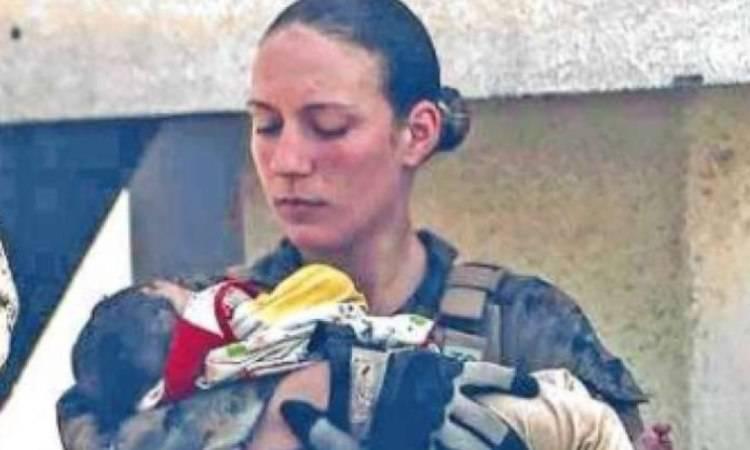 la giovane marines Nicole Gee